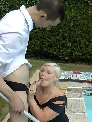 Old bbw mature blonde hardcore anal and vaginal penetration compilation
