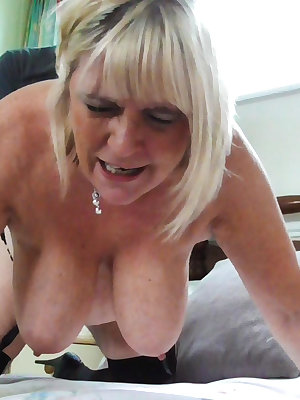 Mature ladies need hard cocks inside their pussies