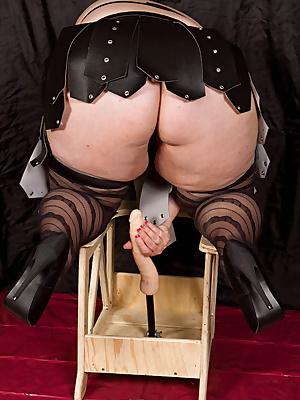 Hi GuysI just have to have some pictures taken on this purpose built dildo chair. I can sit astride it  and feel the lon