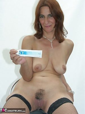 Hubby bought a new white background cause I have lots of black outfits and it shows my clothes off really well. In my me