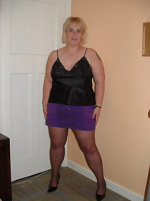 I was posing for my photographer whilst wearing my sweet smelling pantyhose.I noticed a bulge in his trousers and could