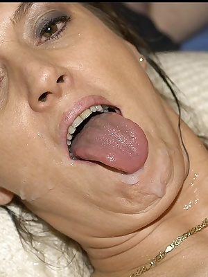 The boys at the private Club challenged me to take all their love wads down my throat. Of course I jumped at the chance.