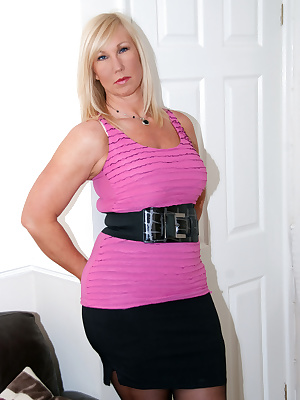 I hope you like my latest set in this pink top. Melody x