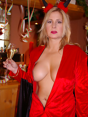 My sexy costumes for the party - I am waiting for the guest coming to my costume-party. But I am not sure which costume