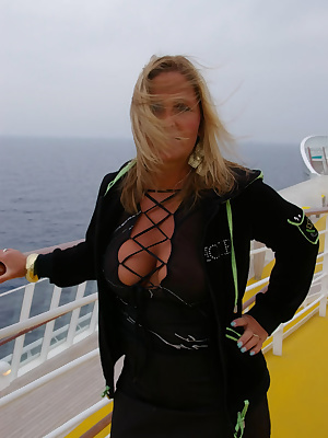 I did a cruise with the aida-ship last year. Many men were smiling when I passed them with my sexy outfit. What do You t