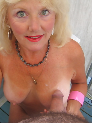 It was a sunny day on my deck  I was waiting for a hot sexy man to walk down my driveway.In the meantime, I was in my ga