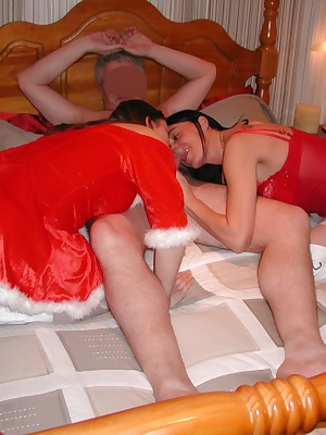 Check out the hardcore group action at my recent xmas party. My friend and I eventually pursuade the boys that what they