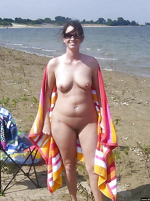 Naked amateur wives outdoor