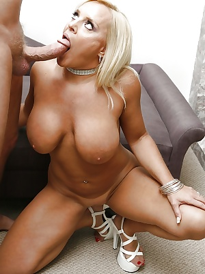 Big tits pornstar with blonde hair Alexis Golden has her mature ass fucked