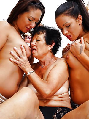 Old and young lesbian sluts