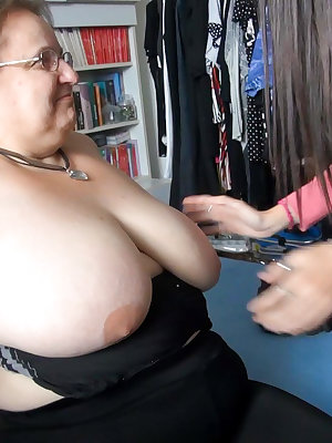 Young girls are fucking with old horny lesbians