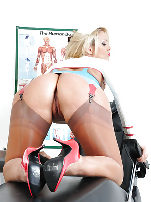 Naughty nurse Lucy Zara
