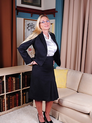 Naughty American mature lady getting very frisky