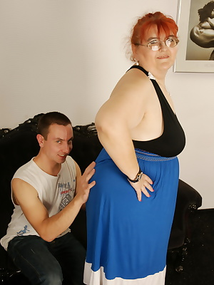 Naughty BBW having fun with her Toy Boy