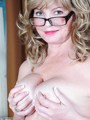 Naughty American Librarian getting very frisky