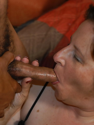 Big mama getting fucked by a strapping black dude
