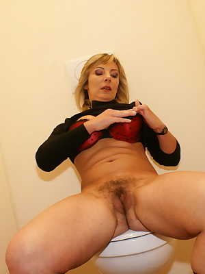 Mama just loves to suck the semen right out of the shaft