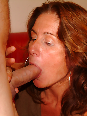 Horny mature slut sucking and fucking