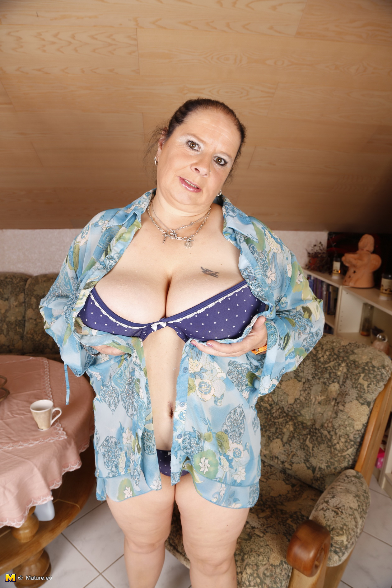 image German milf with massive tits fuck deutsch guy